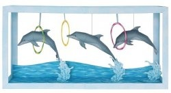 Журнал Paper Aquarium: Dolphin Show