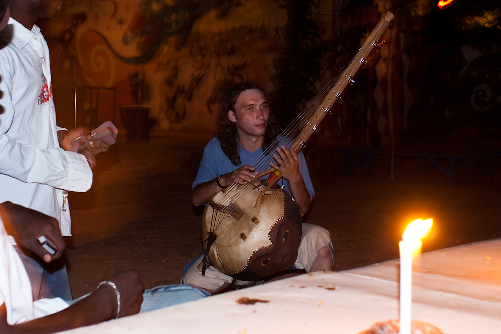 Я в Буркина-Фасо, 2007 г.