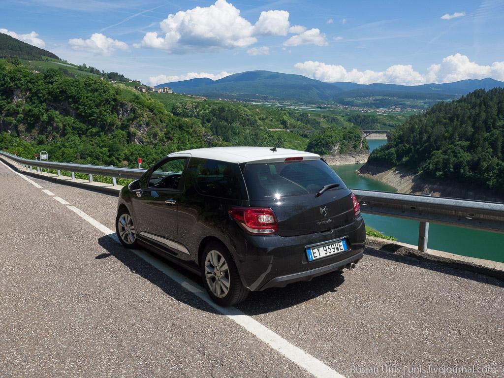 Путешествие по Италии на машине
