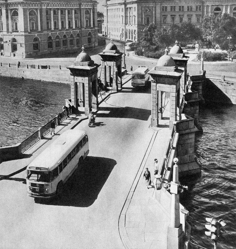 Мост Ломоносова / Lomonosov Bridge