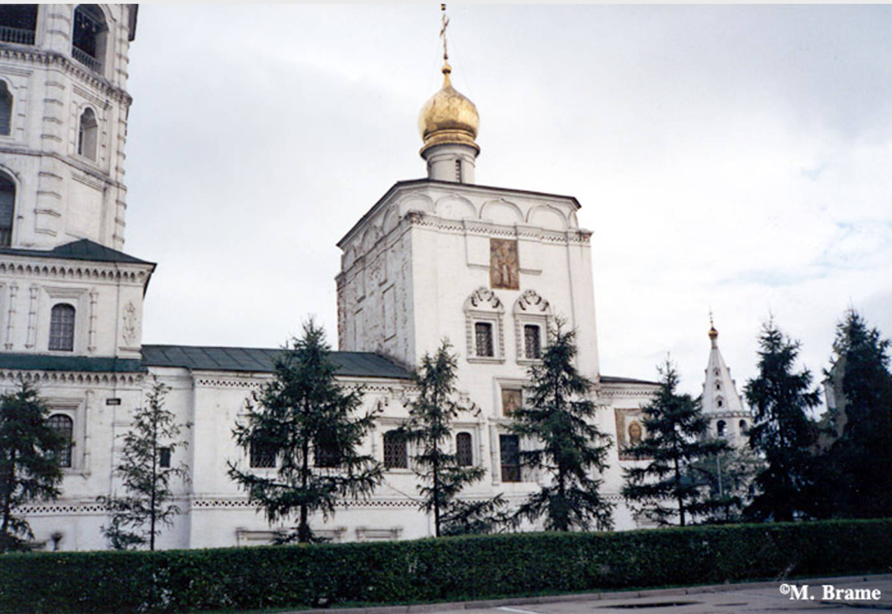 Иркутск. Спасская церковь (храм во имя Спаса Нерукотворного Образа)