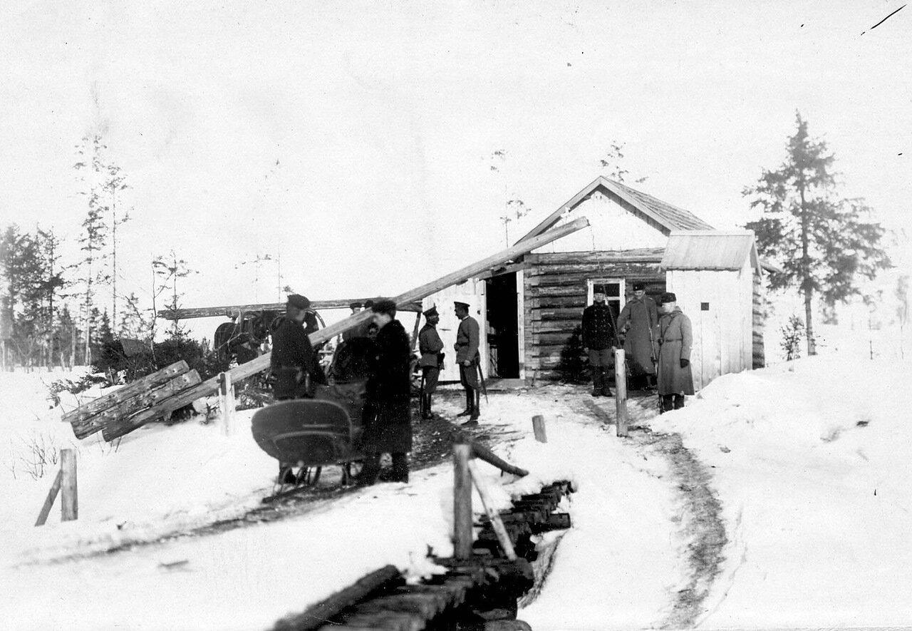 24. Пограничный пост бригады. 1908