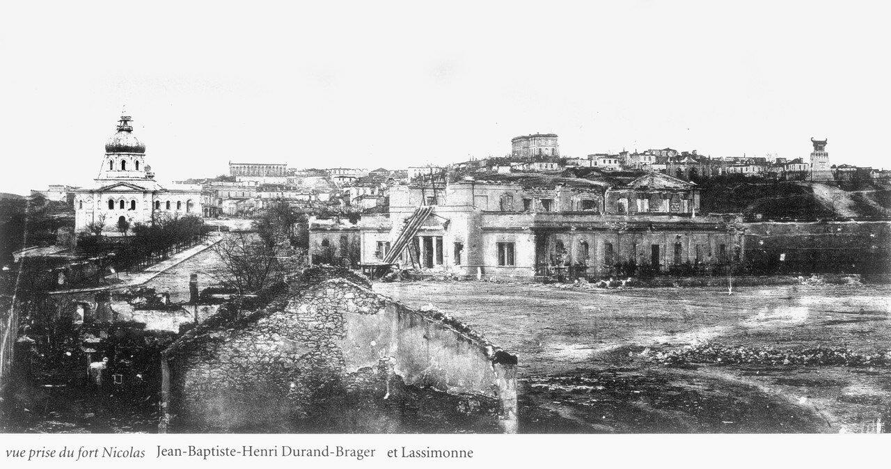 Вид города из Николаевского форта
