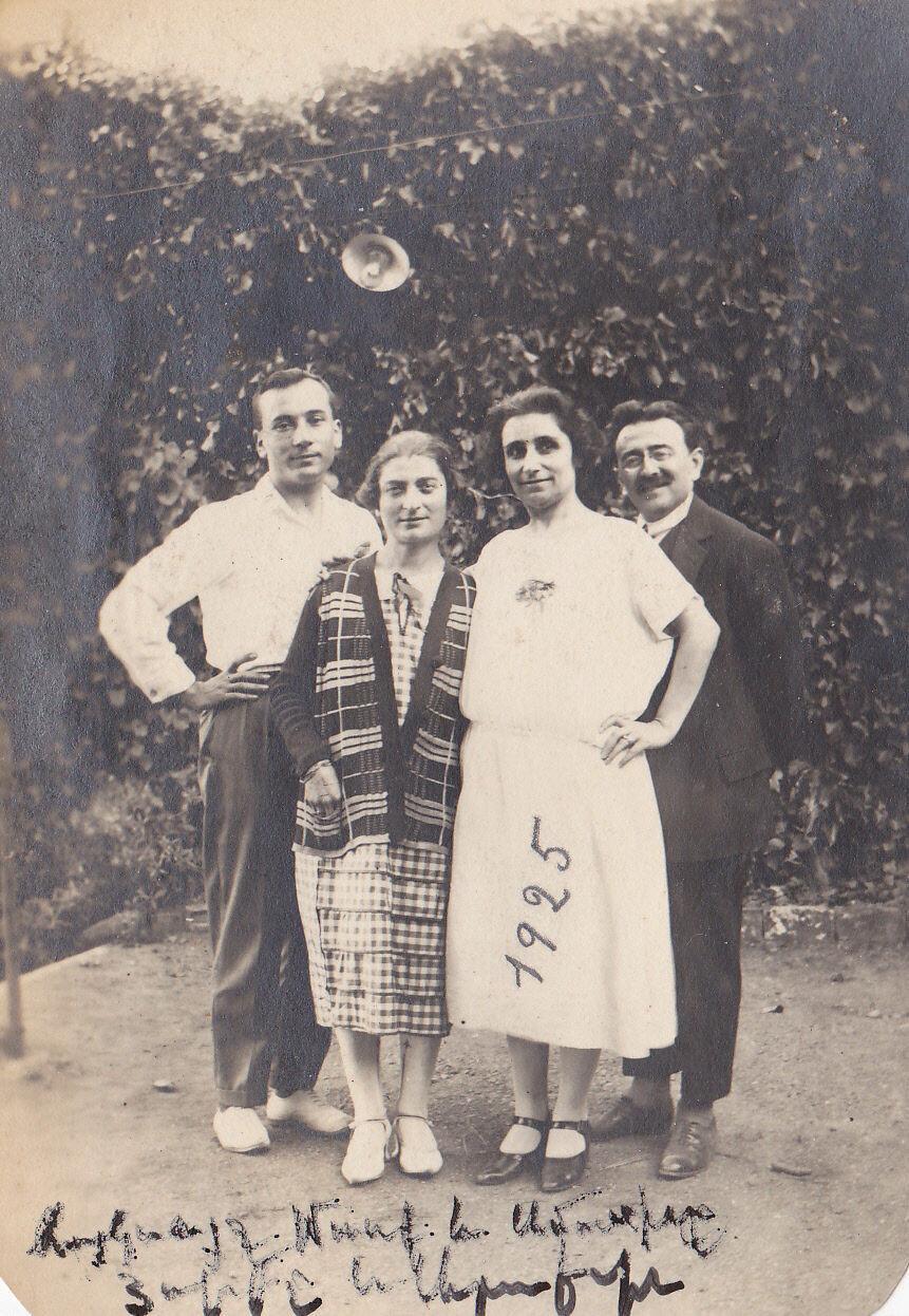 1925. Армянский писатель Марк Хайганас
