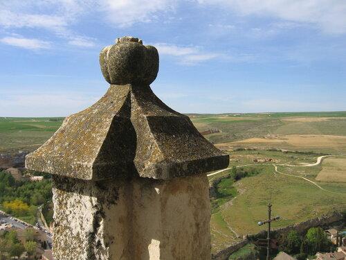 На крыше Алькасара