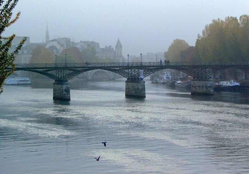 Париж в тумане