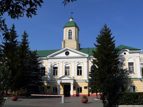 Самое старое каменное здание в Омске.