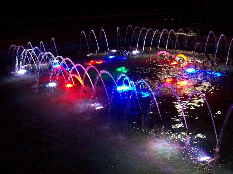 Светомузыкальный фонтан в Хрещатом парке