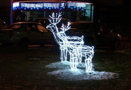 Рождественские оленики