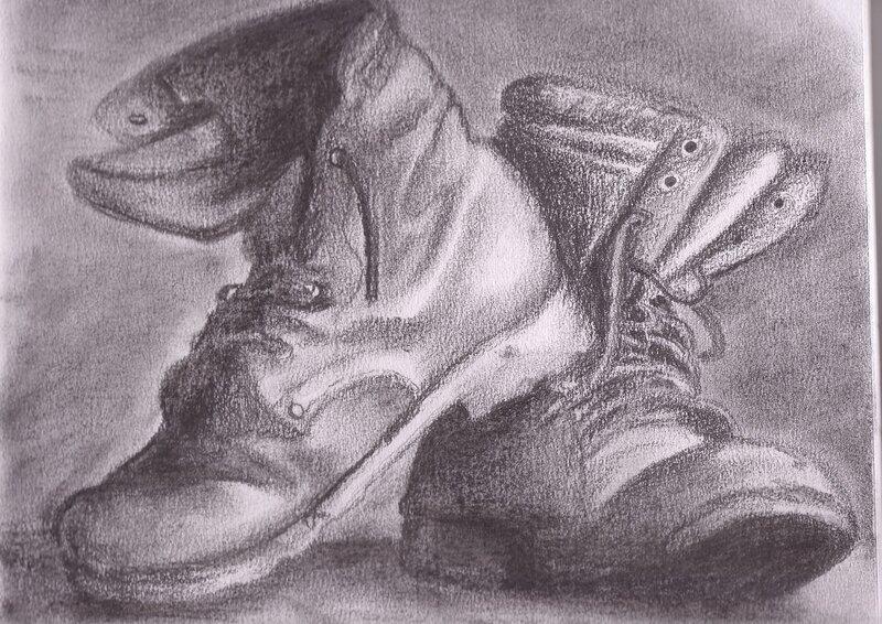 Натюрморт картинки простым карандашом 8