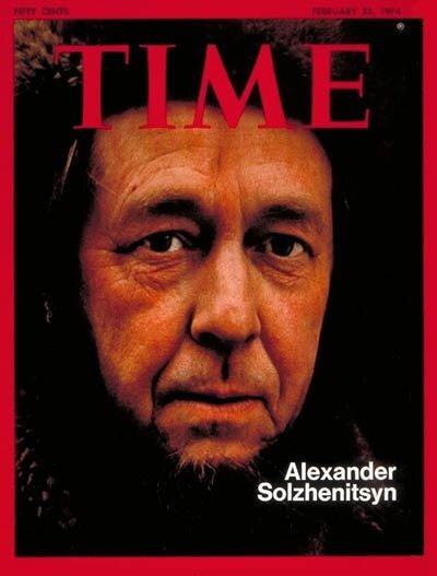 Солженицын- TIME Feb. 25, 1974