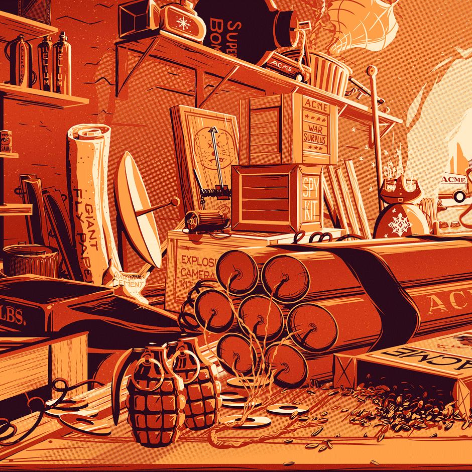 Wile E. Coyote's desk, Rob Loukotka.png