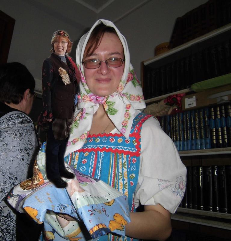 Очаровательная Маша и мозгонедостаточная Ольга Косырева.