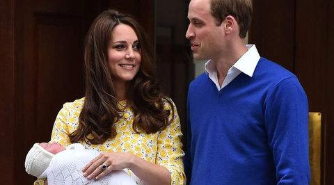 По случаю рождения принцессы Лондон порозовел