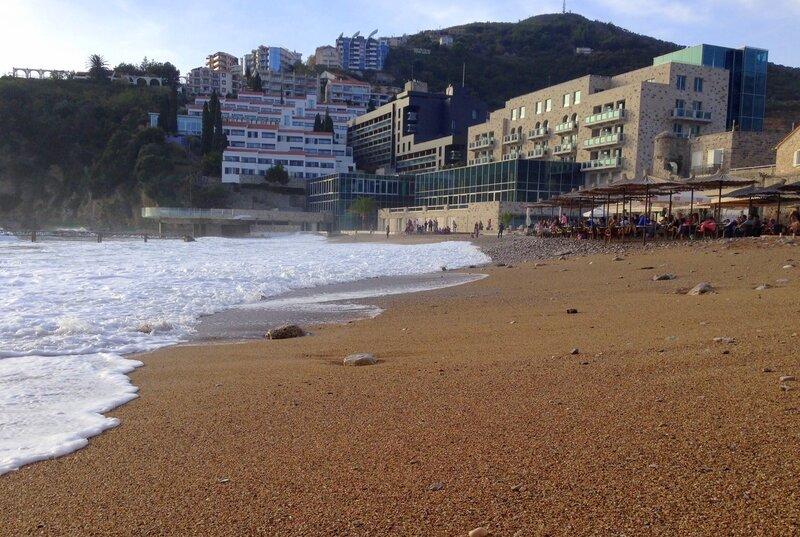 Будва, пляж Ричардова глава
