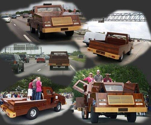 Автомобили из дерева