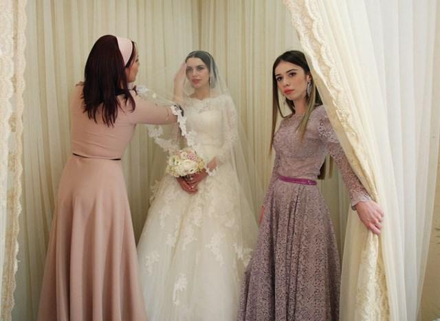 Свадьба по ингушски и чеченски, праздник для невесты