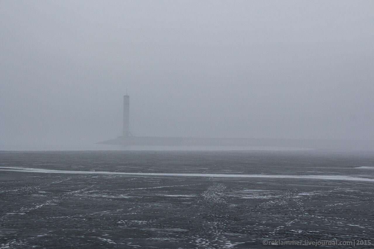 маяк в тумане, маяк, киевское море