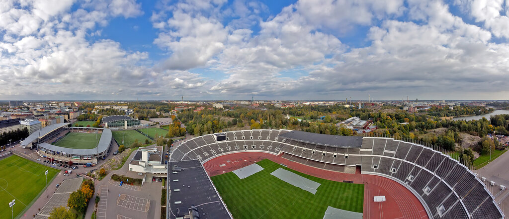 Helsinki, Olympic stadium