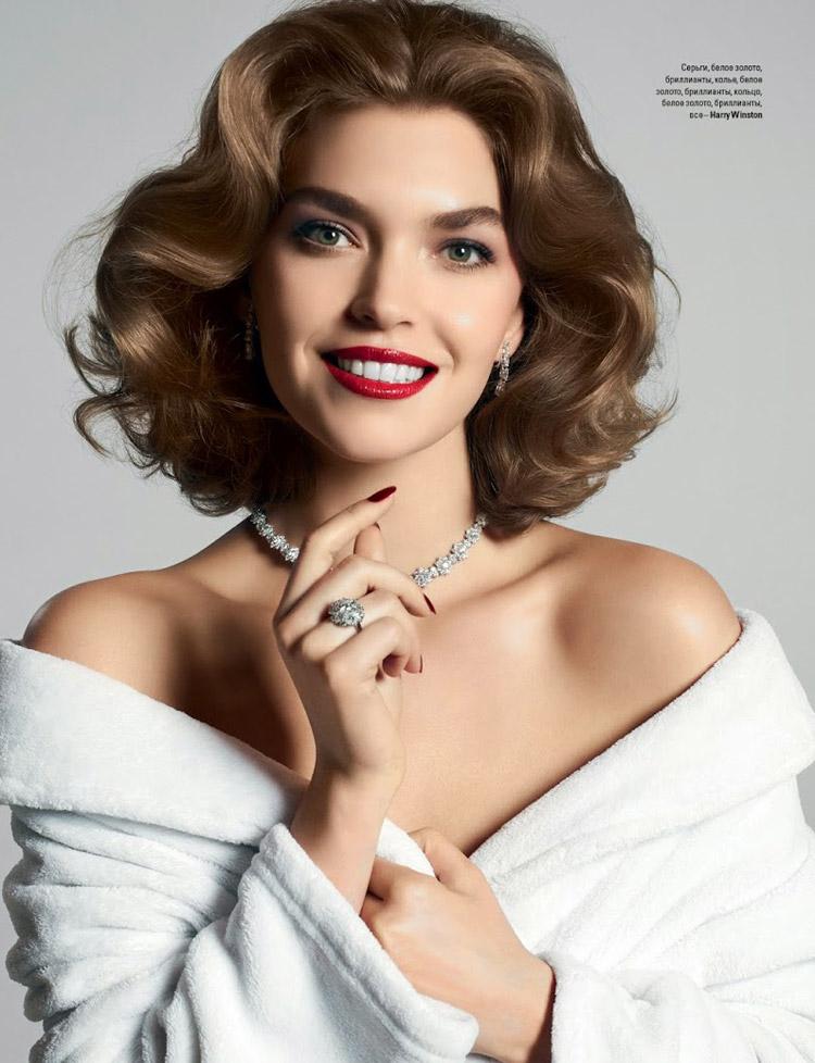 Аризона Мьюз для июньского Vogue Ukraine 2014