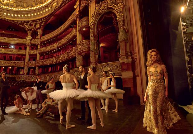 Наталья Водянова (Natalia Vodianova) в журнале American Vogue