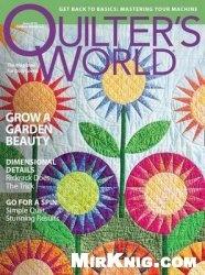 Журнал Quilter's World - June 2010