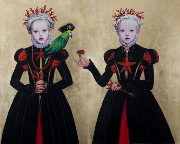 «Плохие девочки» художницы Титти Гарелли. Иллюстрации со скрытым смыслом