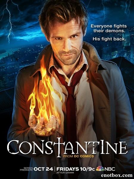 Константин / Constantine - Полный 1 сезон [2014, WEB-DLRip | WEB-DL 1080p] (LostFilm)