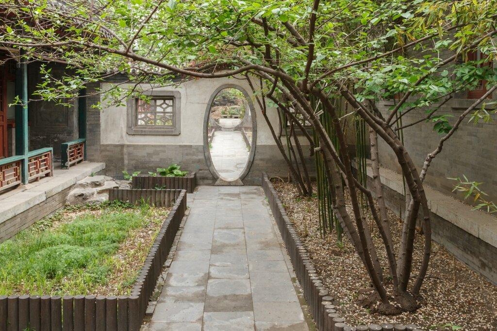 Сад, резиденция князя Гуна, Пекин, Гунванфу