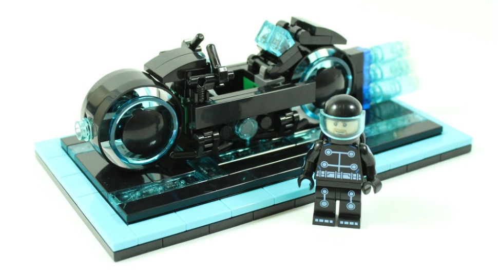 Концепт конструкторв Lego Tron Light Cycle