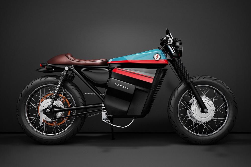 Электроцикл Honda Model Electric Cafe Racer 1
