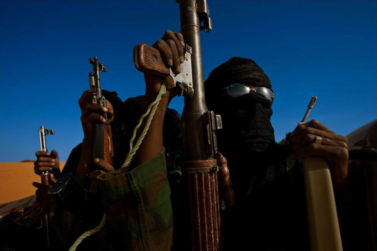 Воинственные североафриканские туареги на снимках фотографа из ЮАР Brent Stirton (2)