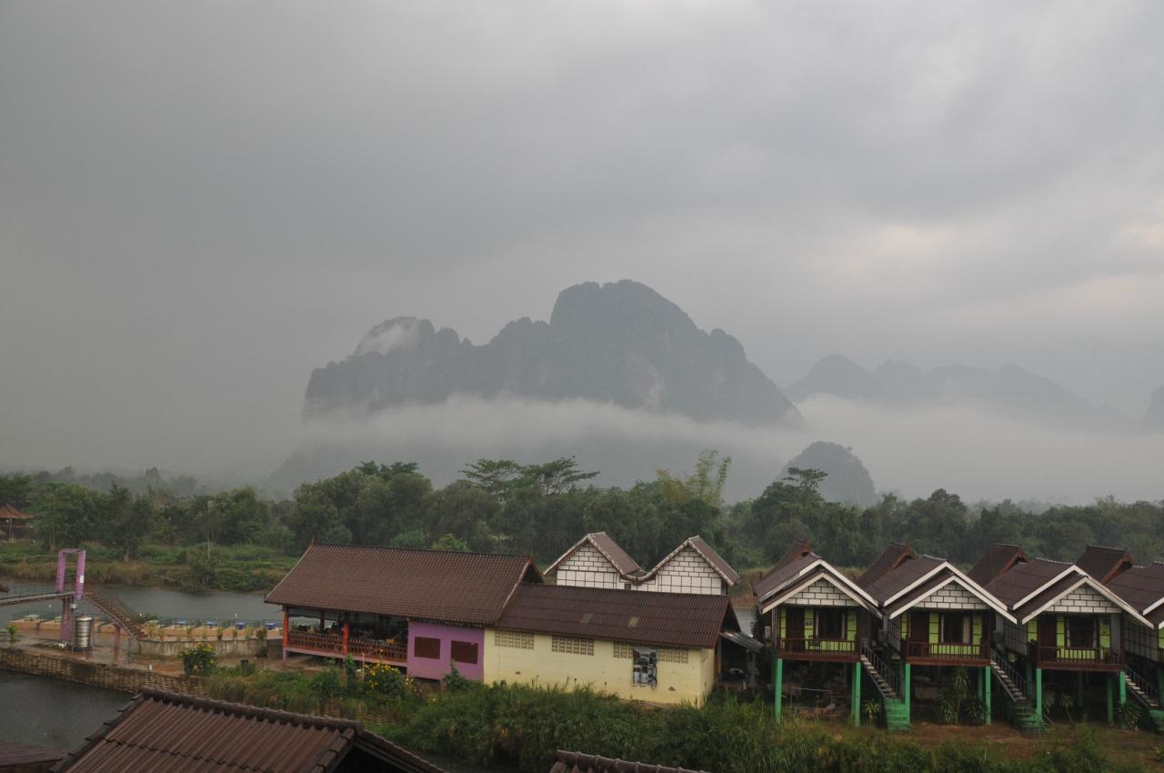 Парящие горы Ванг Вьенга