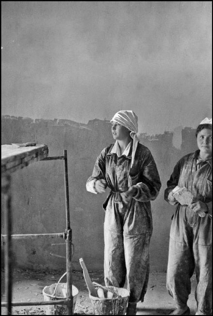 1954. Москва. Строительство гостиницы Метрополь