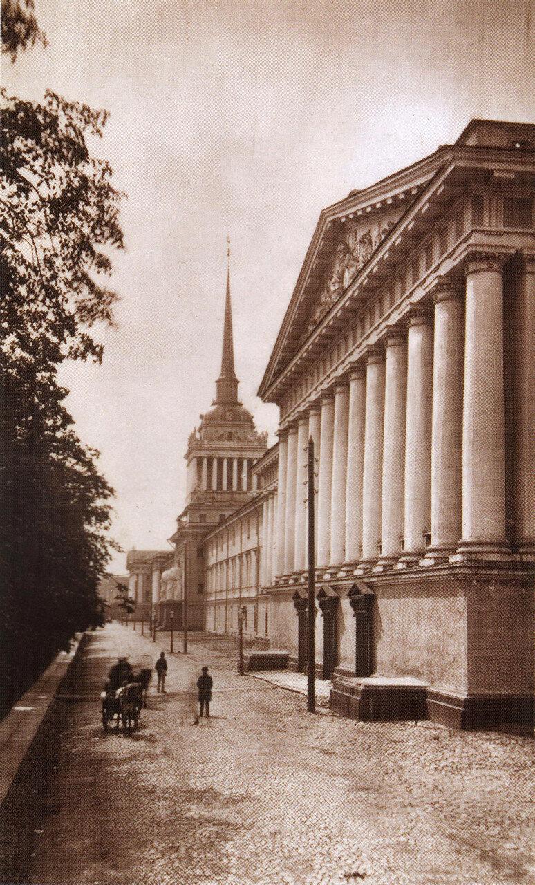 Адмиралтейский бульвар. 1880-е