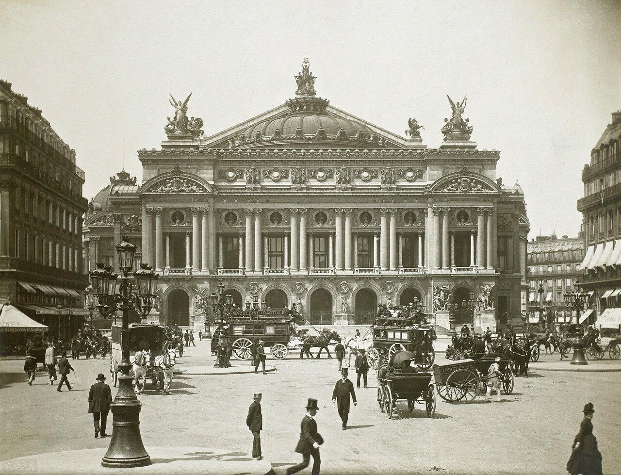 1889. Площадь Оперы