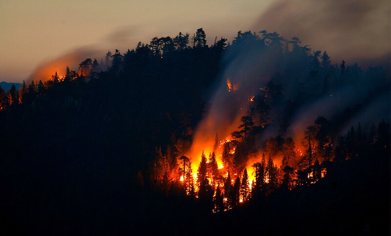 California's Continuing Fires