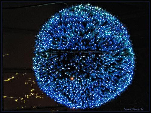 Garden d'Lights 2008 - голубой шар