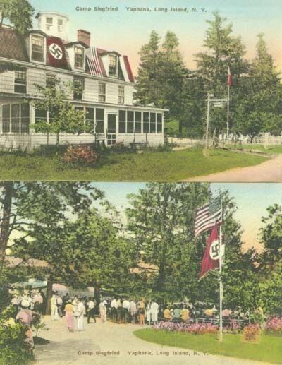 Германо-Американский Союз, лагеря