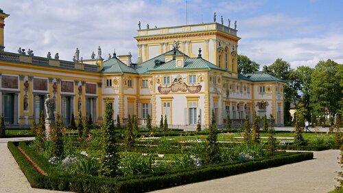 wilanow rezydencja krolewska