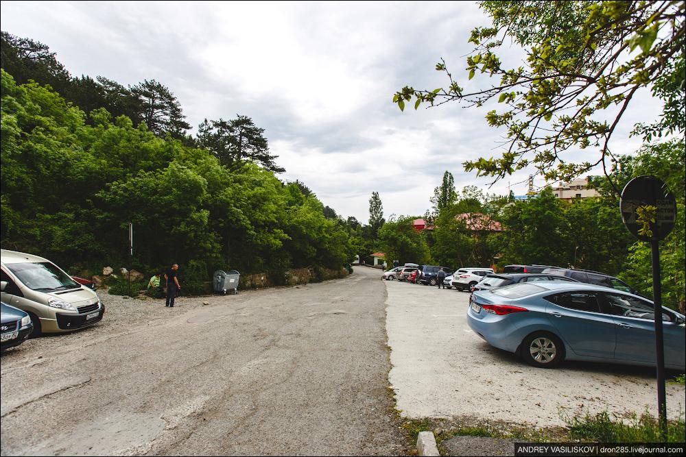 Поляна сказок парковка