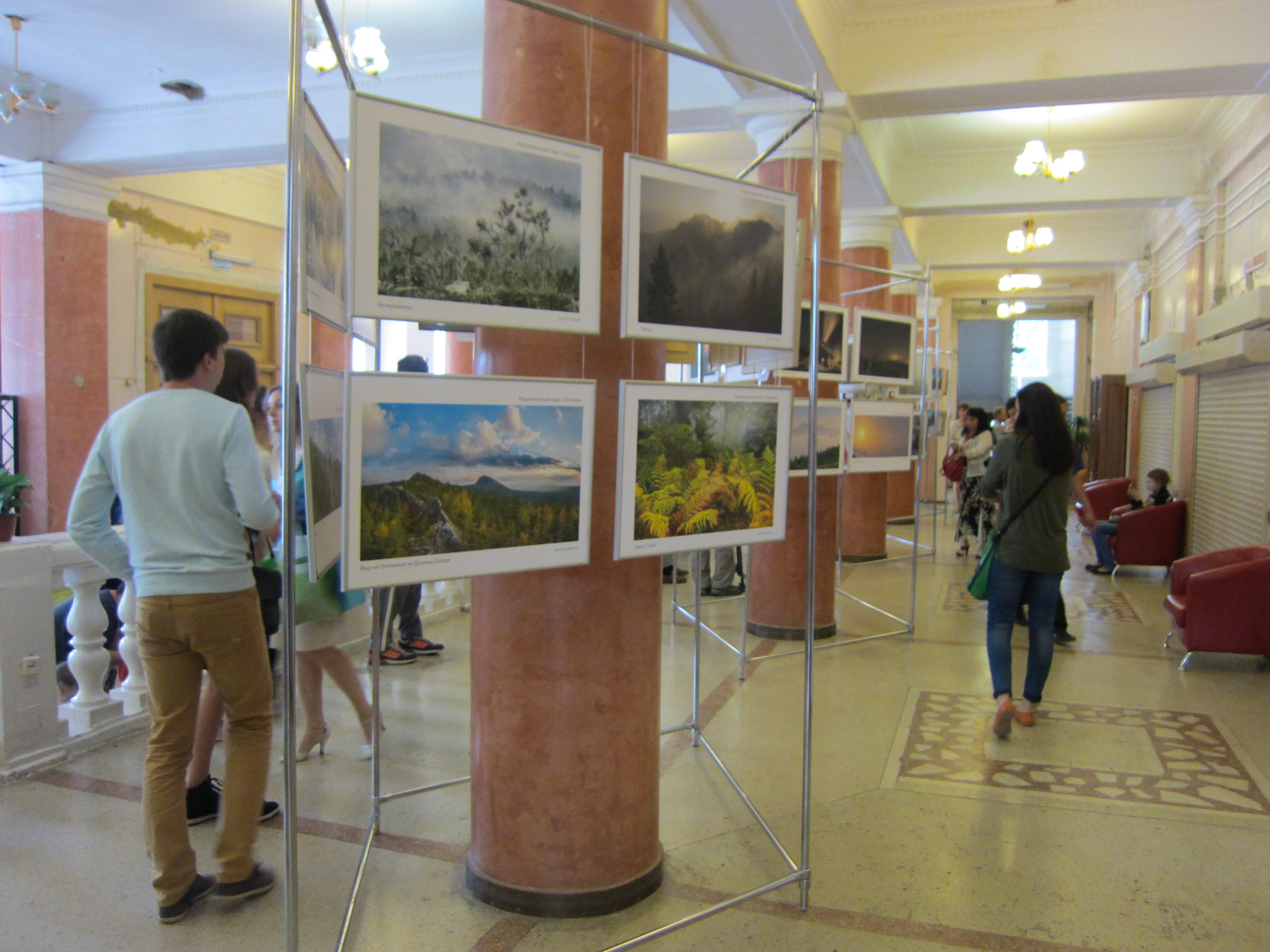 Галерея картин и фоторабот на выставке ″Многоликий Таганай″ (05.08.2015)