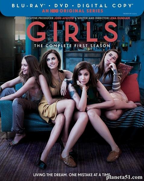Девочки (Девчонки) (1-4 сезоны: 1-42 серии из 42) / Girls / 2012-2015 / ПМ (Amedia) / HDRip, HDTVRip
