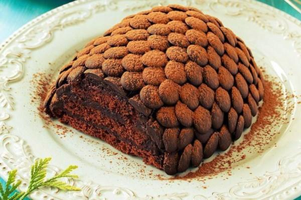 Новогодний торт «Шишка» на праздничный стол