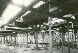 Вид заводского двора.