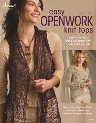 Книга Easy Openwork Knit Tops