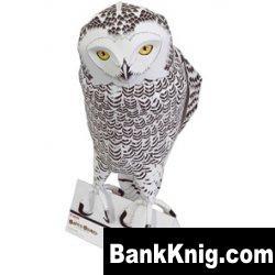 Бумажная модель-Белая сова