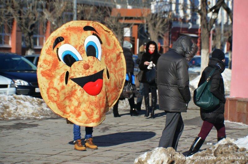 Масленица пожаловала, Саратов, 17 февраля 2015 года