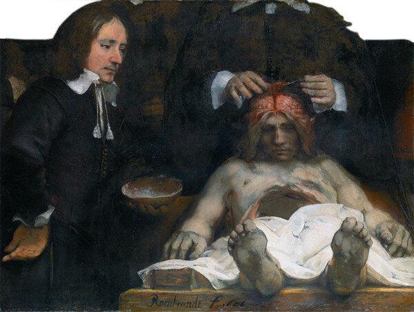 Anatomische les van Dr. Jan Deijman (fragment)