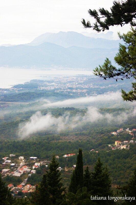 Вид на Тиватский муниципалитет